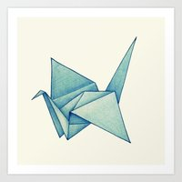 High Hopes | Origami Cra… Art Print