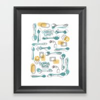 Teaspoon Framed Art Print