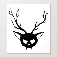 The Catalope Canvas Print