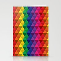 Color Me A Rainbow Stationery Cards