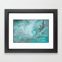 Dolphin Dreams Framed Art Print