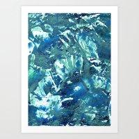 Coraltes Art Print