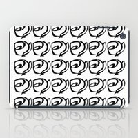 Rows Of Flowers iPad Case
