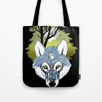 Wolf Phase Tote Bag
