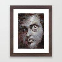 discontented el-terco Framed Art Print