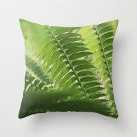 The Green Light #4 Throw Pillow