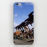 Wreck of the Peter Iredale iPhone & iPod Skin