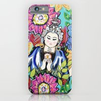 iPhone & iPod Case featuring White Tara by Paola Gonzalez