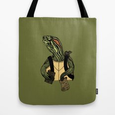 Hero In A Half Shell Tote Bag
