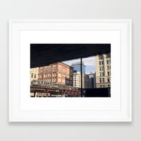 Chicago in the A.M. Framed Art Print