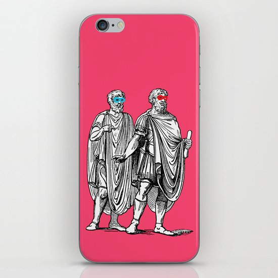 Classic men have a party iPhone & iPod Skin
