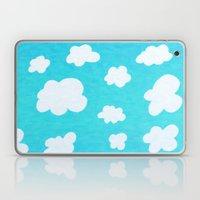 Happy Little Clouds Laptop & iPad Skin