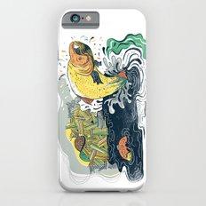 Salmon Jumping Slim Case iPhone 6s