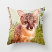 So Foxy! Throw Pillow