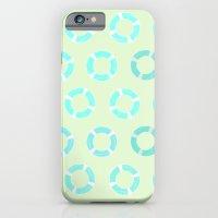 RING FLOAT PATTERN iPhone 6 Slim Case