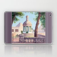Tiny old mediterranean chapel Laptop & iPad Skin