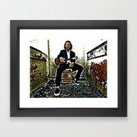 Eddie Vedder | Oil Painting Framed Art Print