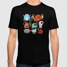 Petites créatures Black Mens Fitted Tee SMALL