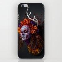 Autumn Muertita Side iPhone & iPod Skin