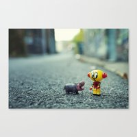 HI!! I Told You I Don't … Canvas Print
