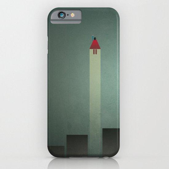 Smooth Minimal - Flying man iPhone & iPod Case