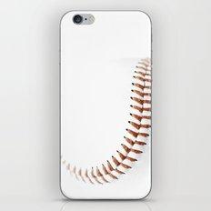 Baseball stitch iPhone & iPod Skin