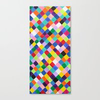 You.Me.Us Dos Background Canvas Print