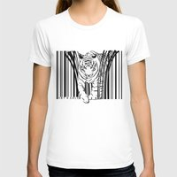 Tigers Extinct In 12 Yea… Womens Fitted Tee White SMALL