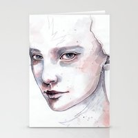 Frozen, Quick Watercolor… Stationery Cards