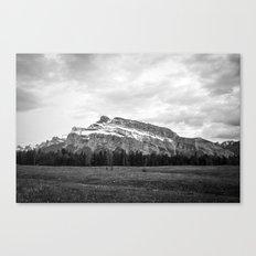 Mount Rundle in Banff Alberta Canvas Print