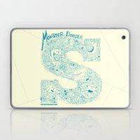 Monster Doodle - light version Laptop & iPad Skin