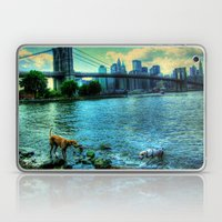New York Brooklyn Bridge Laptop & iPad Skin