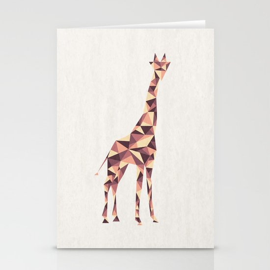 Giraffe Stationery Card