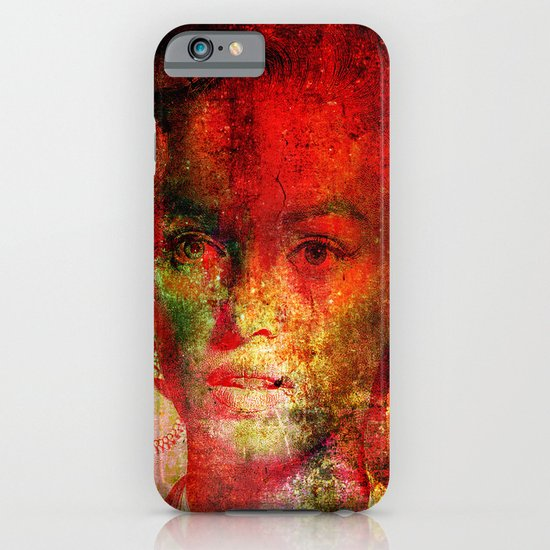 Marilyne behind the mirror iPhone & iPod Case