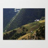 Valls D'Andorra Canvas Print
