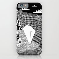 iPhone & iPod Case featuring Bird Crossing over the full moon by Tiago Berao