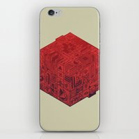The Folly Of Time And Sp… iPhone & iPod Skin