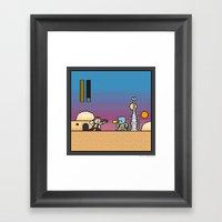 Mega Boss Battles - Han … Framed Art Print