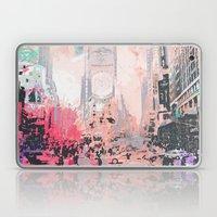 time square/new york Laptop & iPad Skin