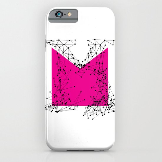 M (abstract geometrical type) iPhone & iPod Case