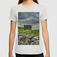 The Pennine Way Womens Fitted Tee Silver SMALL