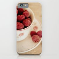iPhone & iPod Case featuring A Cup of Raspberries by Hello Twiggs