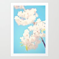 Cherry Tree Art Print