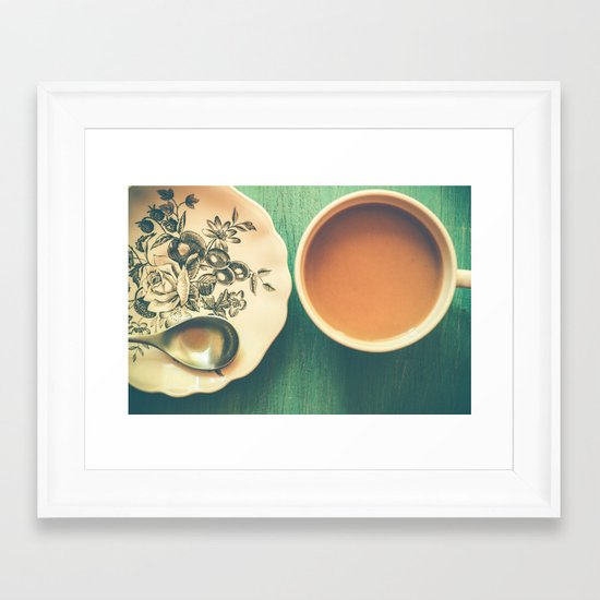Wake Up Call Framed Art Print