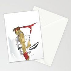 The Street Fighter Stationery Cards