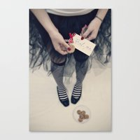 Eat me Canvas Print