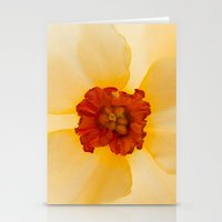 Golden Daffodil Stationery Cards