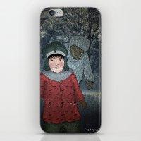 Посмотри! Йети - Beware of the Yeti!  iPhone & iPod Skin