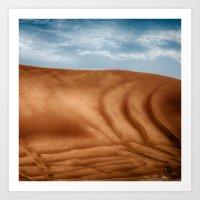 Desert Wave Art Print
