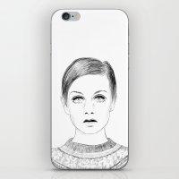 Twiggy iPhone & iPod Skin
